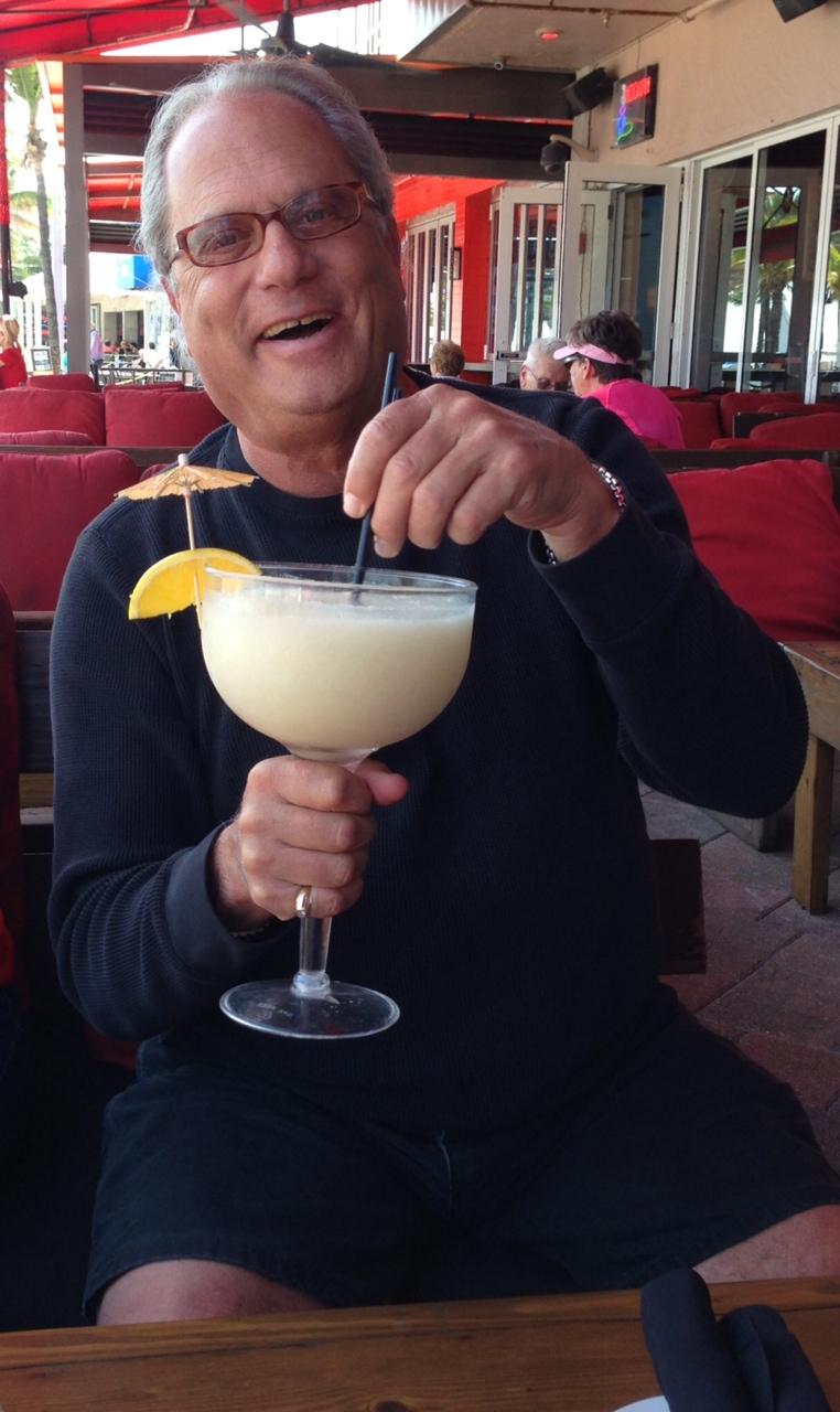 db with big glass drink